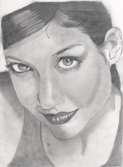 Katie Holmes by fabdulogie